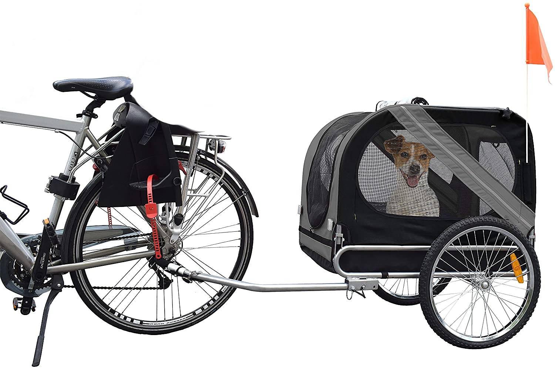 Cykelvagn för hundar – bäst i test 2021